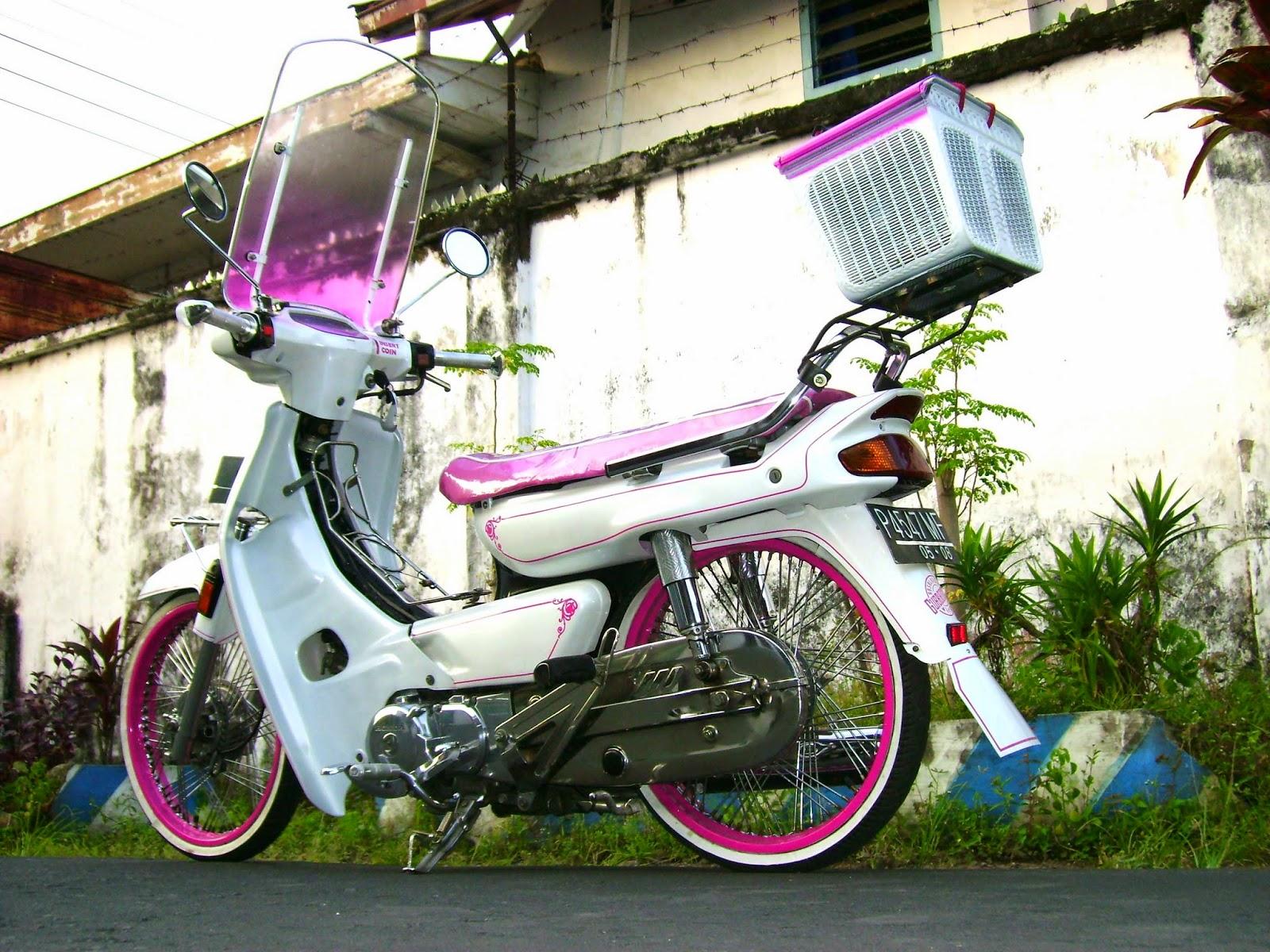 foto modifikasi motor honda impressa