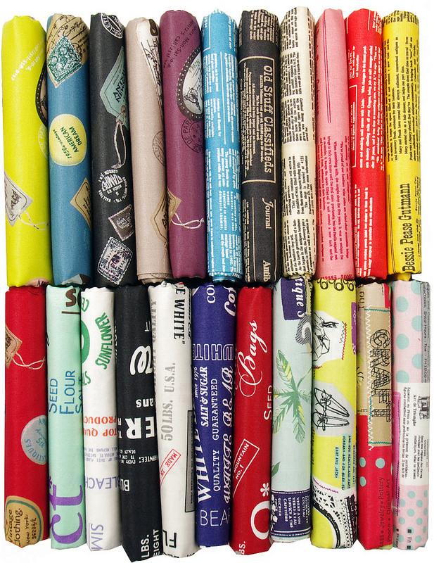 Japanese Text and Low Volume Fabrics ~ Suzuko Koseki ~ Yuwa Fabrics |  Red Pepper Quilts