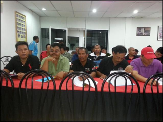Mesyuarat Agung KSBK pada 30/4/2014 diDewan MTRK Jln Hamzah Kb.