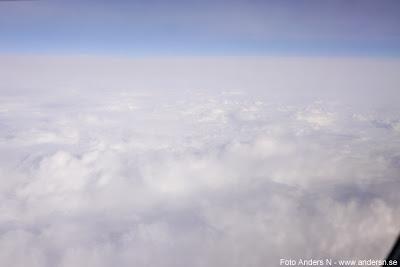 utsikt från flygplan view from airplane, moln, mulet, vispgrädde, vispad grädde