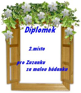 Diplomek od Milušky