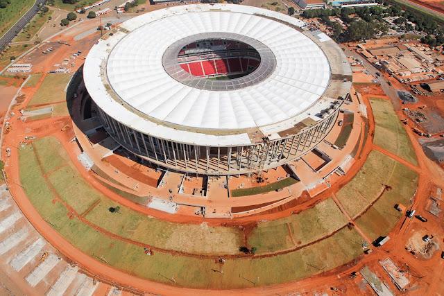 Santos e Flamengo jogarão no Estádio Nacional de Brasília, ingressos custarão até R$ 400