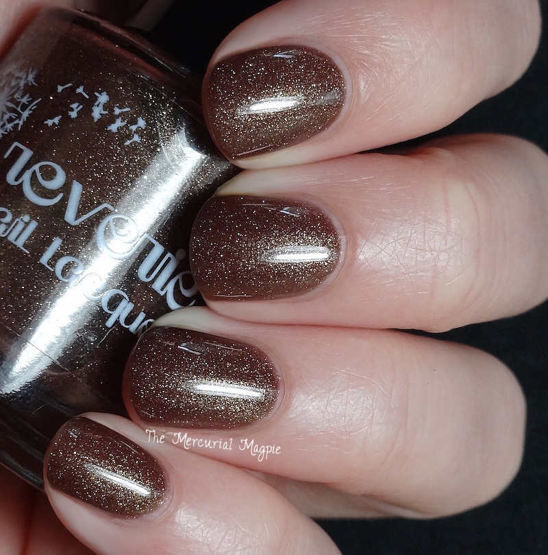 Reverie Nail Lacquer Hot Chocolate Swatches