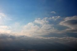 Wolkenwand...