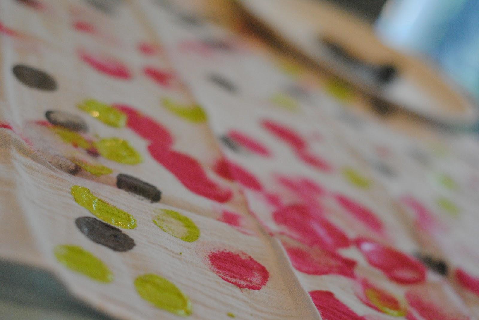 Kitchen Towel Craft Diy Tea Towel Tutorial Stamped Kitchen Towels Making Lemonade