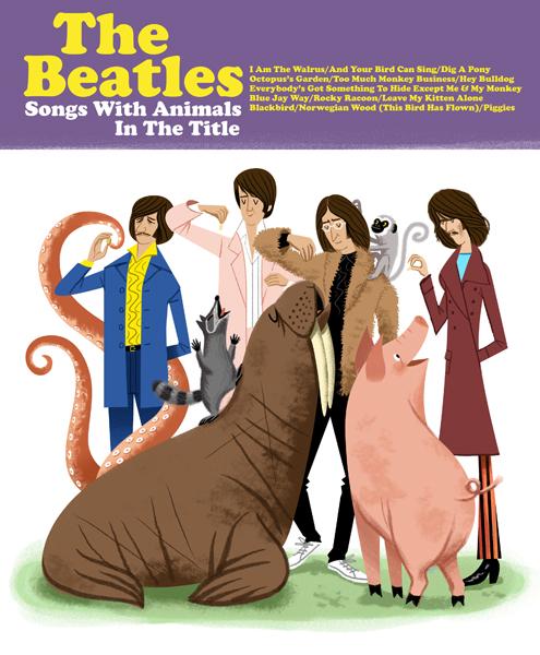 Músicas dos Beatles com animais no título