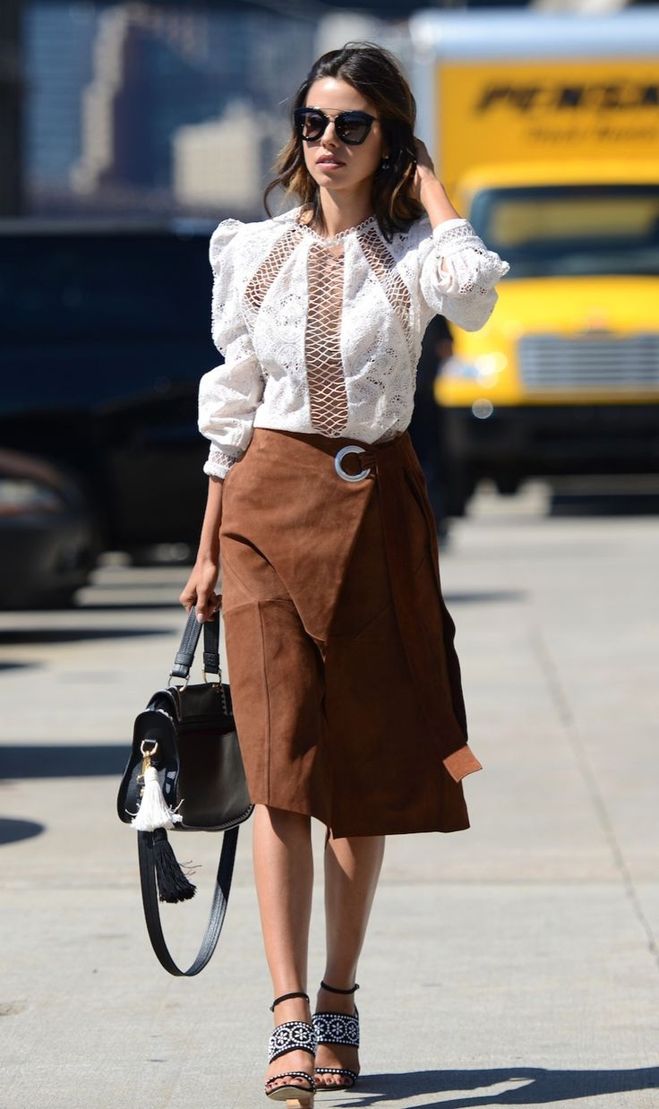 Street Style Victorian blouses