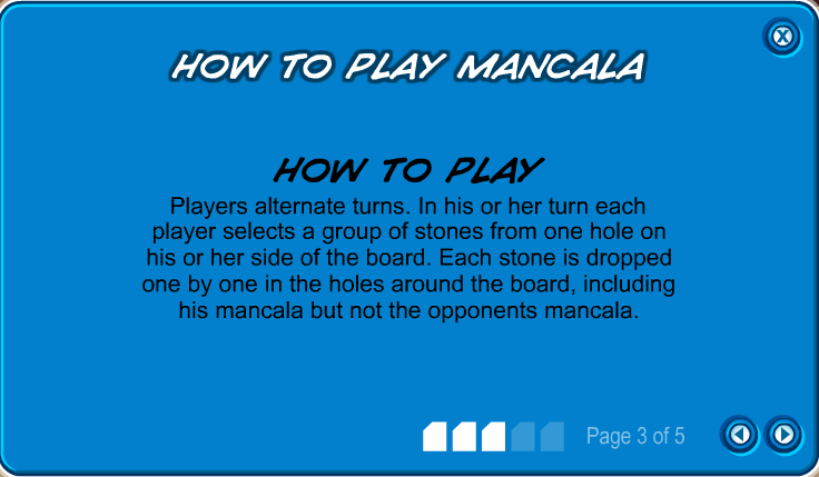 heads or tails game directions for mancala