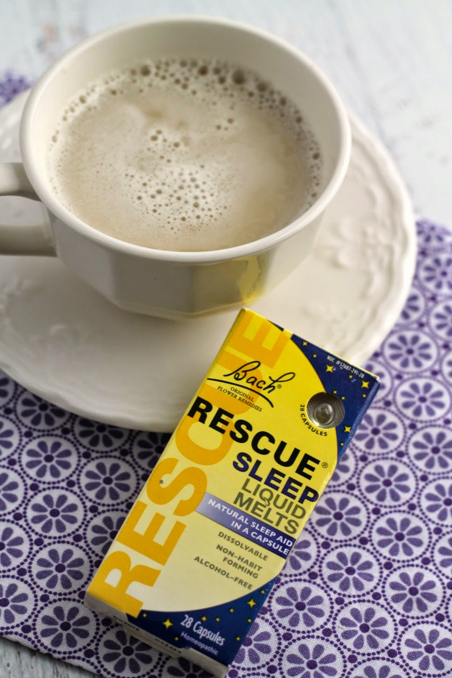 Add a creamy, quick, and comforting Sweet Dreams Chamomile Latte to your nightly bedtime routine #StressLess2BmyBest #CG