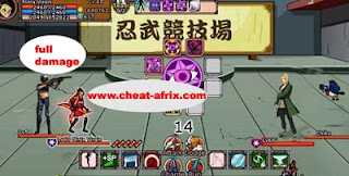 Cheat Ninja Saga 1 Hitt Kill Damage