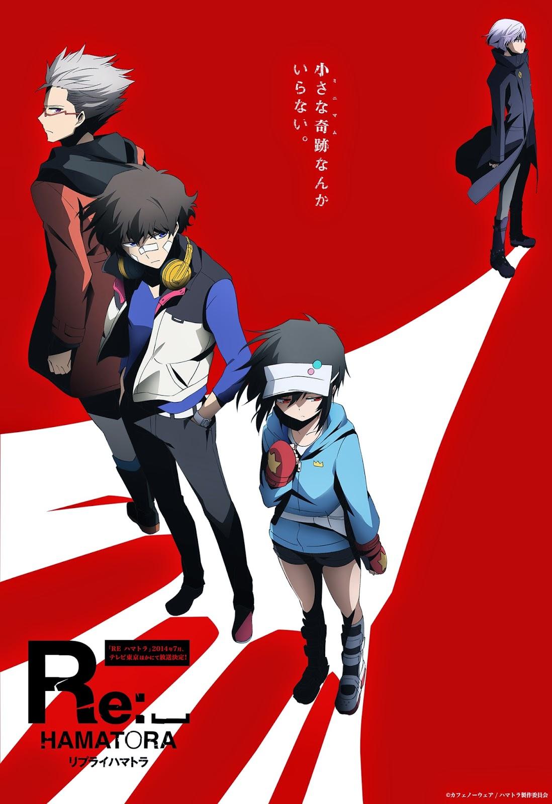 [ Info-Anime ] Re-Hamatora Akan Tayang Pada Bulan Juli Dengan Anime Studio Lerche