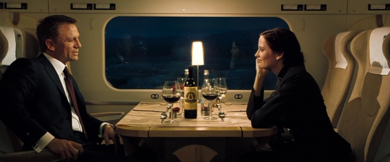 casino royale train scene