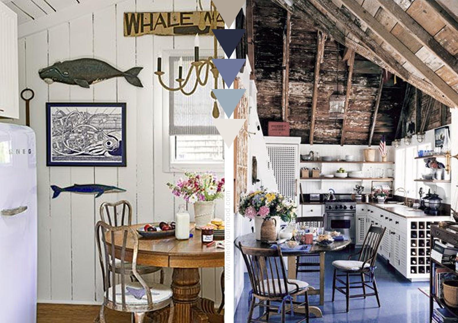 Voglia di mare mood per una casa passeggiando sulla - Cucina al mare ...