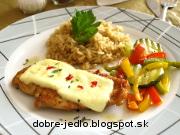 Kuracie prsia so zeleninou - recept