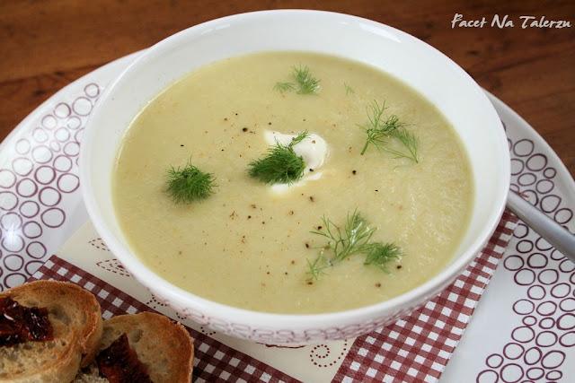 zupa krem z fenkuła i selera
