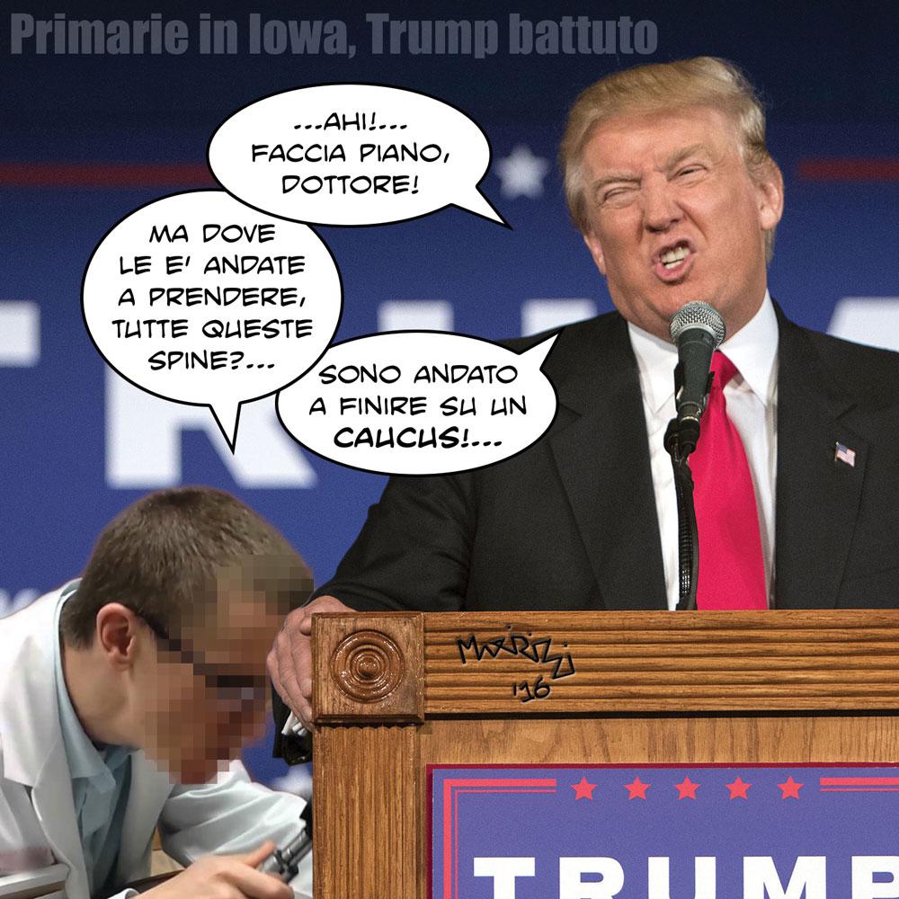 Caduta Massi 2.0: Primarie USA, Donald Trump secondo a sorpresa