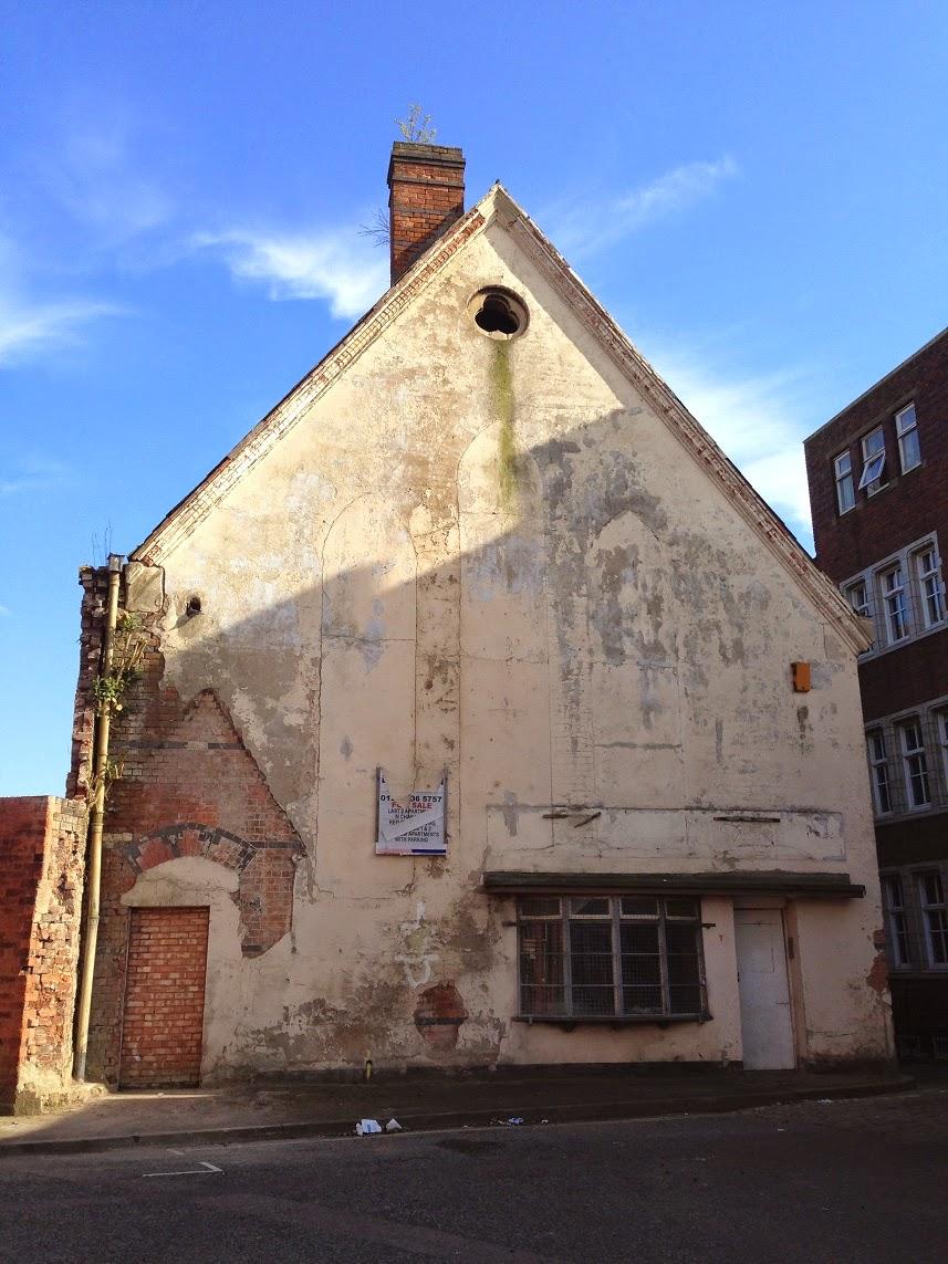 Derelict building, Legge Lane, Birmingham