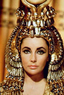 Liz Taylor simply stunning as Cleopatra