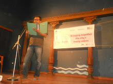 Reading at the Lit Fest