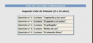 http://reglasdeortografia.com/testcomprension2ciclo.html