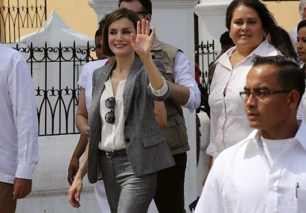 Queen Letizia of Spain's El Salvador Visit, Day 2