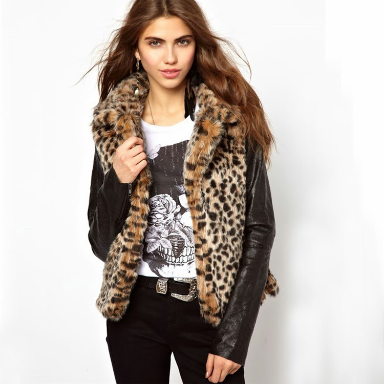 http://www.koees.com/koees-7282-Long-sleeve-leopard-contrast-leather-coat-WWT10615.html