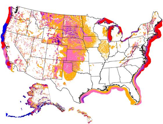 RidiculousRICL Lake Michigan Wind Wind Energy Maps