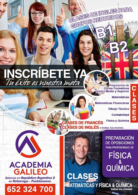 Academia de estudios Galileo en Peñarroya Pueblonuevo