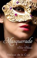 UK book cover of masquerade by melissa de la cruz