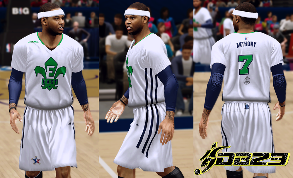 NBA 2K14 All-Star Jerseys 2014 Mod Patch
