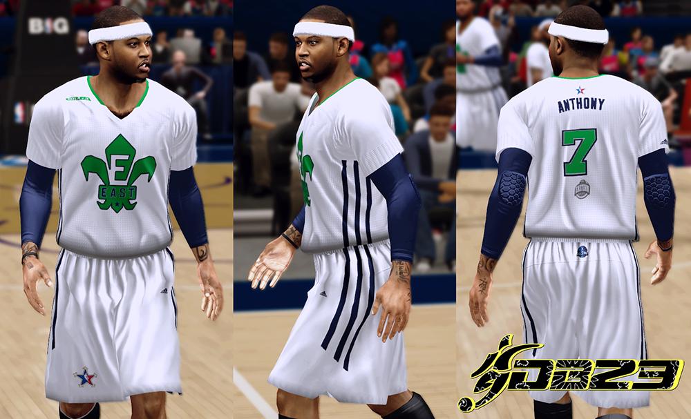 NBA 2K14 All-Star Jerseys 2014 Mod Patch