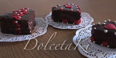 mini cakes cioccolato