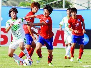 مشاهدة مباراة العراق وكوريا الجنوبية بث مباشر اون لاين اليوم الاثنين 26/1/2015