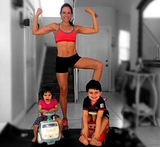 Conheça a rotina de treinos da super mamãe do Instagram, Nana!