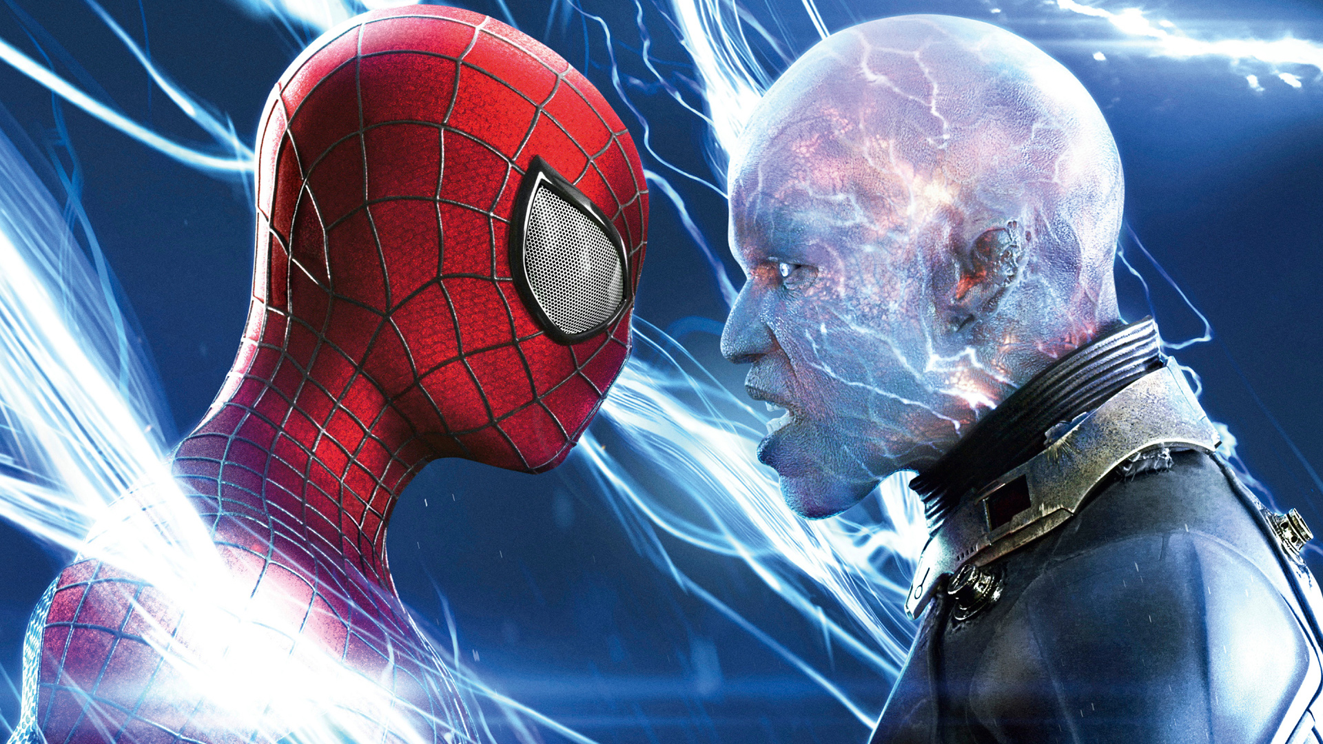 Electro and Spider Man 1v Wallpaper HD