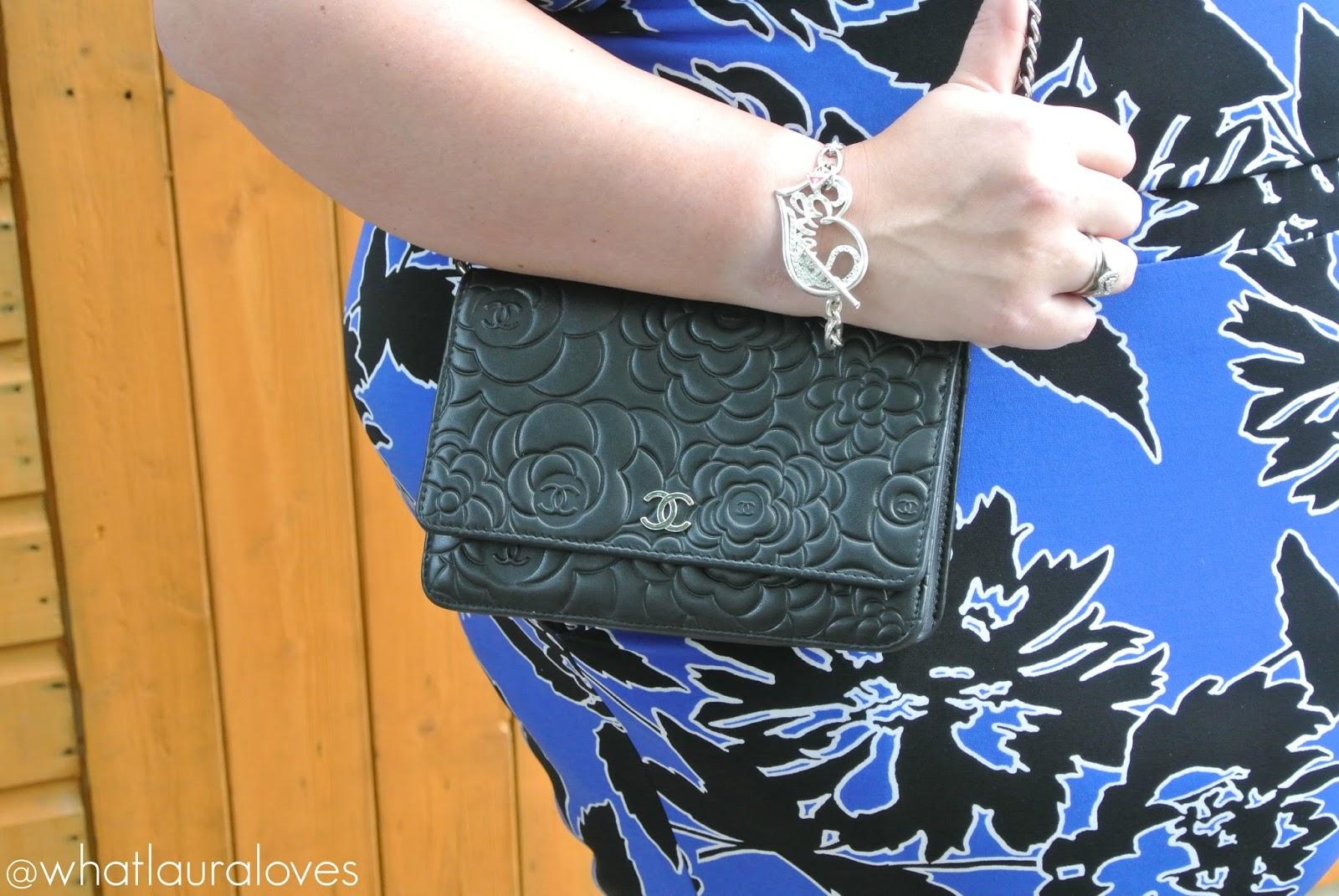 WhatLauraLoves Simply Be Plus Size Jumpsuit Cobalt Blue Chanel WOC