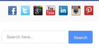 Widget Sosial Media CSS Sprite