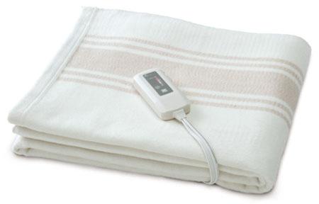 オーガニックコットン電磁波カット こだわり電気毛布