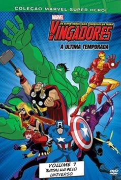 Download  - Os Vingadores Vol 7 Batalha Pelo Universo DVDRip AVI + RMVB Dublado