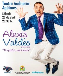 """Alexis Valdés: """"Te quiero, mi humor"""""""