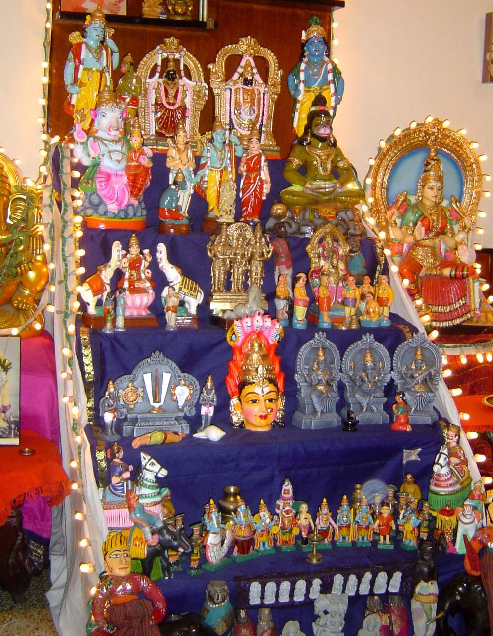 Golu Decoration Tips The Magic Tours Blog Marapachi Bommai And Golu