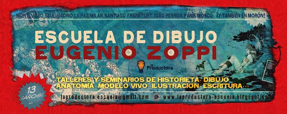 """Escuela """"Eugenio Zoppi"""" de Historietas"""