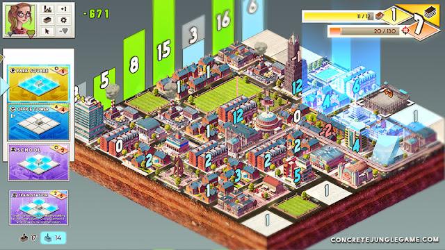 Concrete Jungle es una vuelta de tuerca a los juegos tipo Sim City