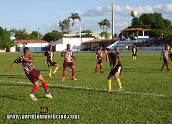 16ª rodada do Campeonato Paratinguense 2013