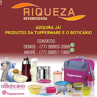 RIQUEZA REVENDEDORA