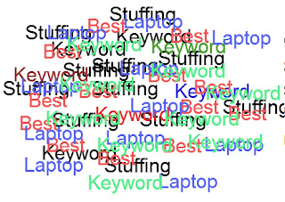 The perils of keyword stuffing Front