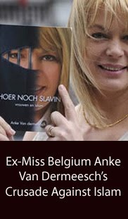 Ex-Miss Belgium's Crusade Against Islam