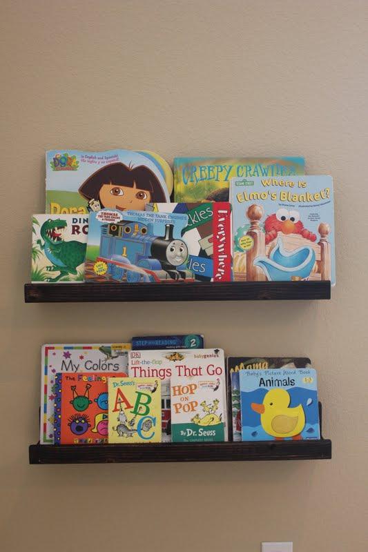 Gettin' Skooled: Forward Facing Bookshelves