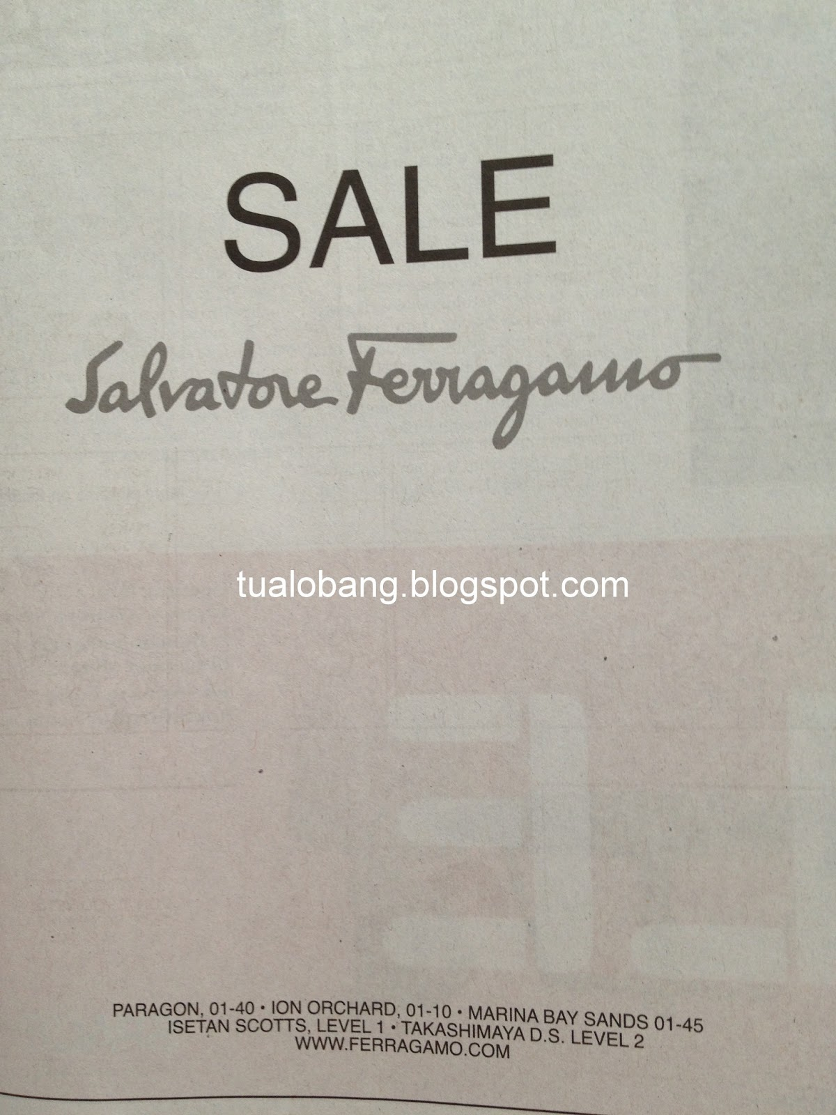 tua lobang salvatore ferragamo sale. Black Bedroom Furniture Sets. Home Design Ideas