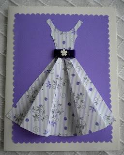 Reciclatex Tarjeta de vestido en 3D